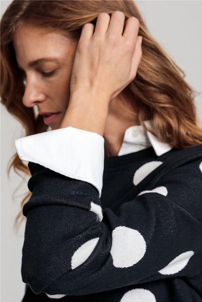 Gant γυναικείο πουλόβερ με μεγάλα πουά 3
