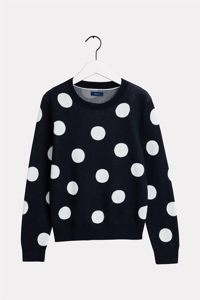 Gant γυναικείο πουλόβερ με μεγάλα πουά 4