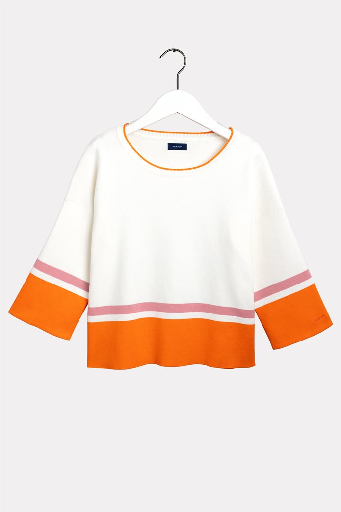 Gant γυναικείο πουλόβερ γυναικείο πουλόβερ colourblocked 0