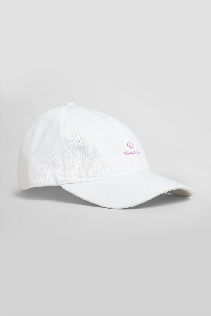 Gant γυναικείο καπέλο με κεντημένο λογότυπο 0