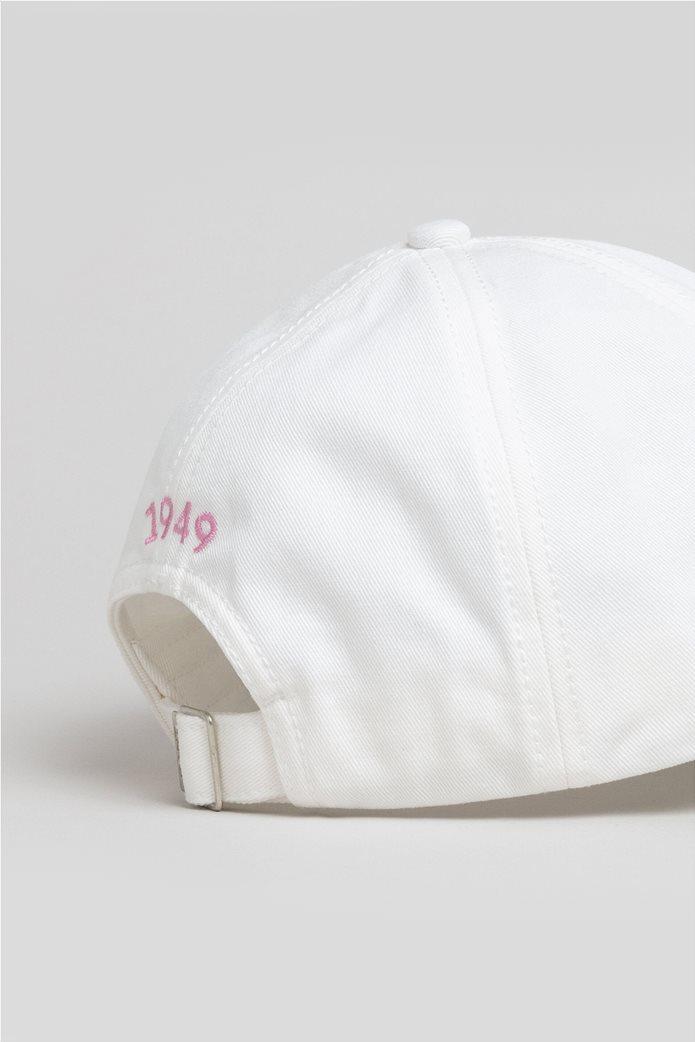Gant γυναικείο καπέλο με κεντημένο λογότυπο 1