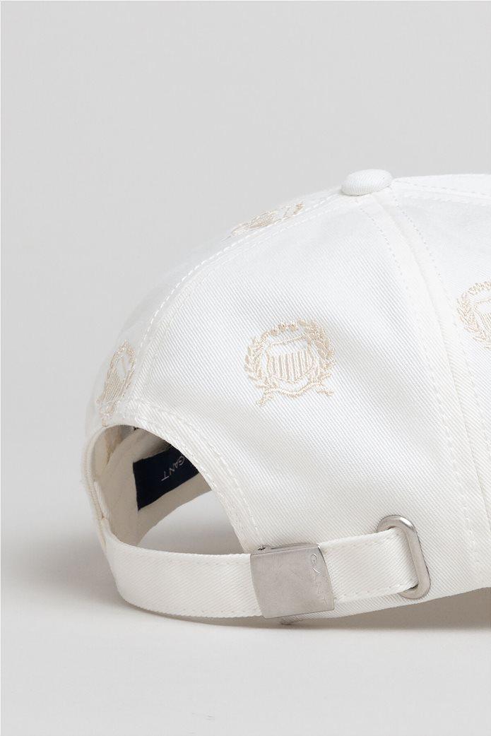 Gant γυναικείο καπελο jockey με logo κεντήματα ''Crest'' 1