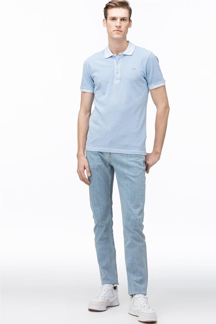 Lacoste ανδρικό τζην παντελόνι ελαστικό Slim fit 0