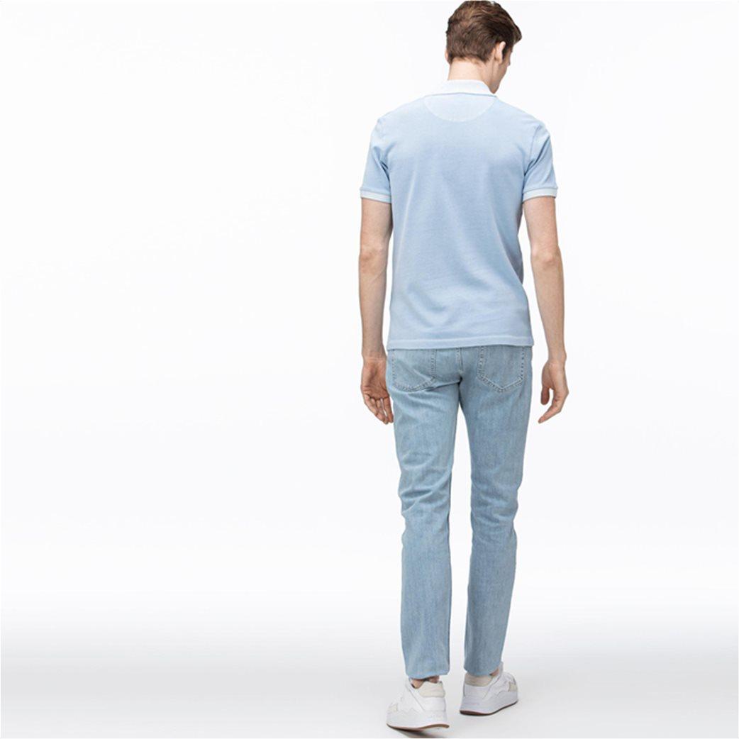 Lacoste ανδρικό τζην παντελόνι ελαστικό Slim fit 1