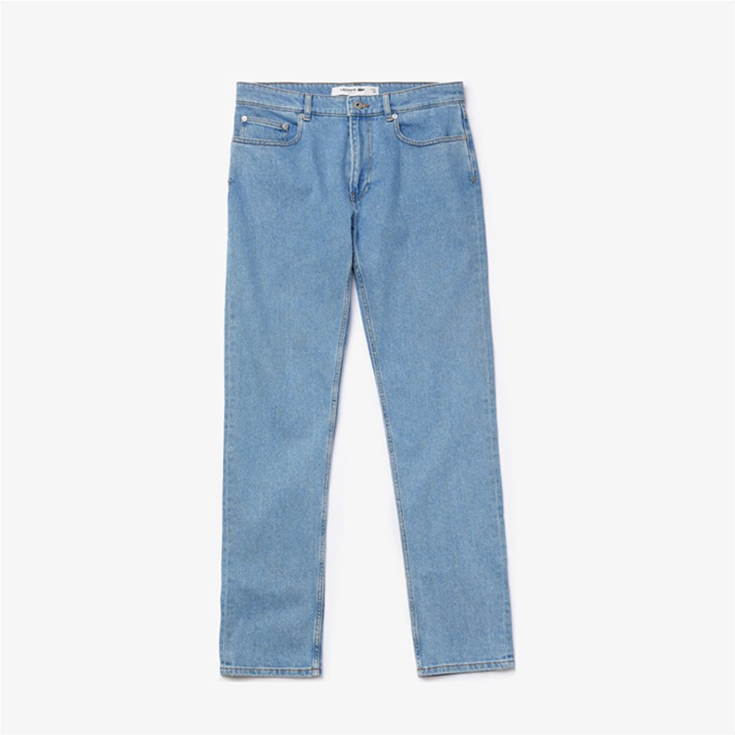 Lacoste ανδρικό τζην παντελόνι ελαστικό Slim fit 3