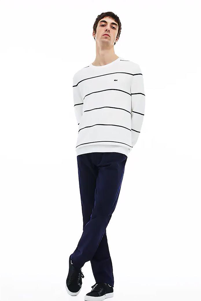 Lacoste ανδρικό παντελόνι πεντάτσεπο Slim fit Μπλε Σκούρο 0