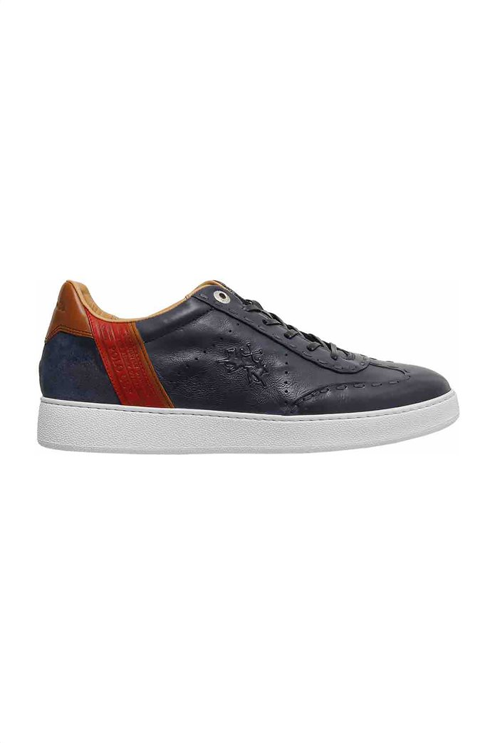 "La Martina ανδρικά δερμάτινα sneakers ""Todi"" 0"