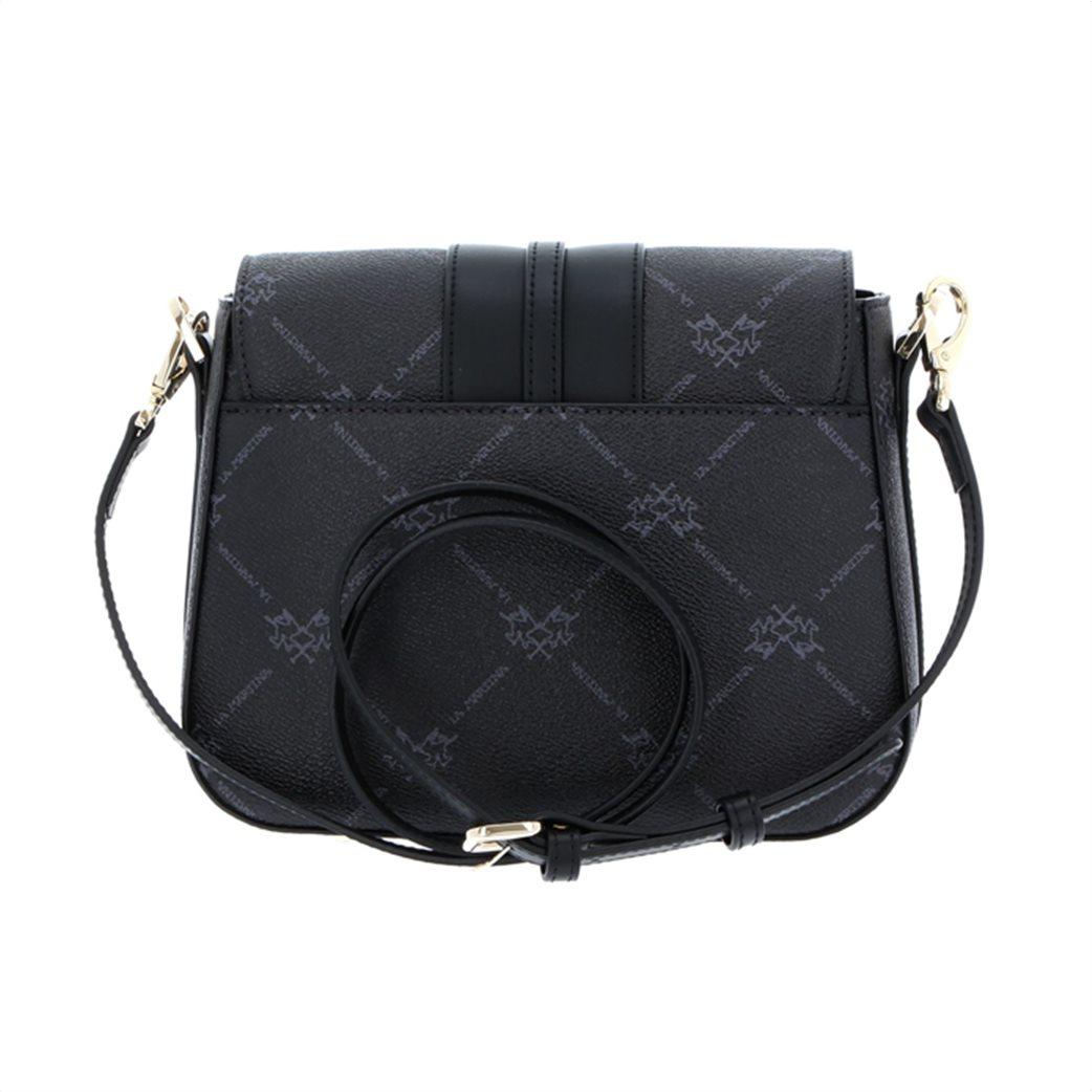La Martina γυναικεία crossbody τσάντα με all-over logo print 2