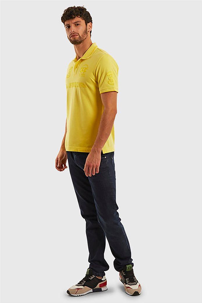 "La Martina ανδρική πόλο μπλούζα με κεντημένα logo ""Patric"" 2"