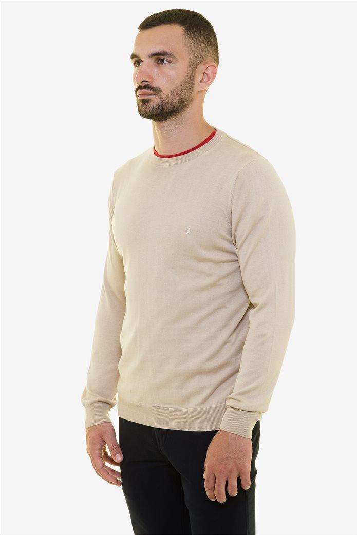 The Bostonians ανδρική πλεκτή μπλούζα με στρογγυλή λαιμόκοψη 2