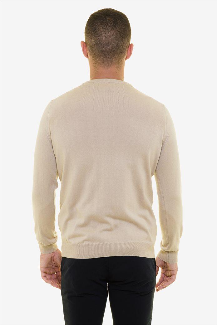 The Bostonians ανδρική πλεκτή μπλούζα με στρογγυλή λαιμόκοψη 3