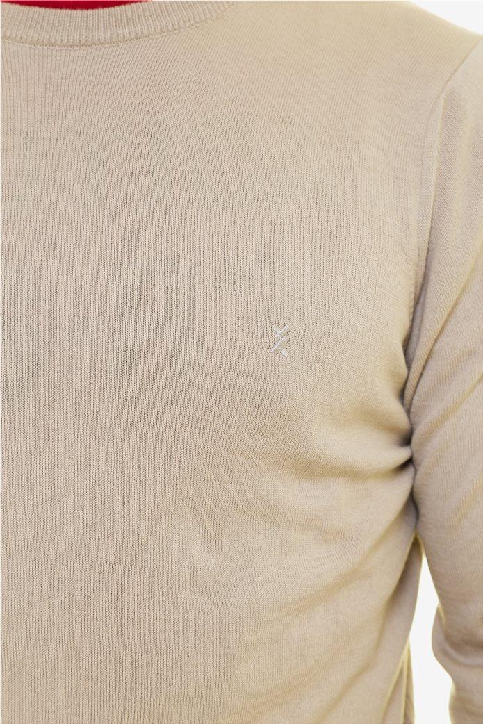 The Bostonians ανδρική πλεκτή μπλούζα με στρογγυλή λαιμόκοψη 4