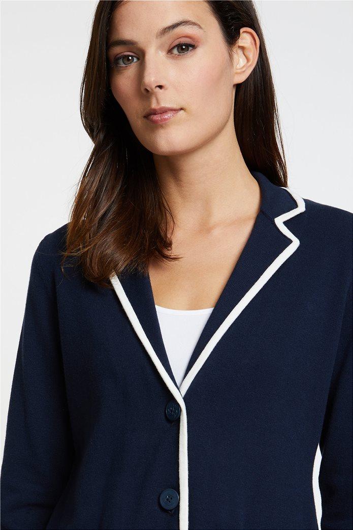 Nautica γυναικεία ζακέτα-σακάκι με ρίγα σε διαφορετικό χρώμα 2