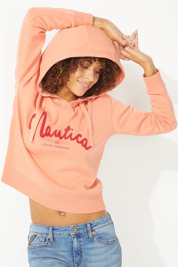 Nautica γυναικεία μπλούζα φούτερ με κουκούλα 0