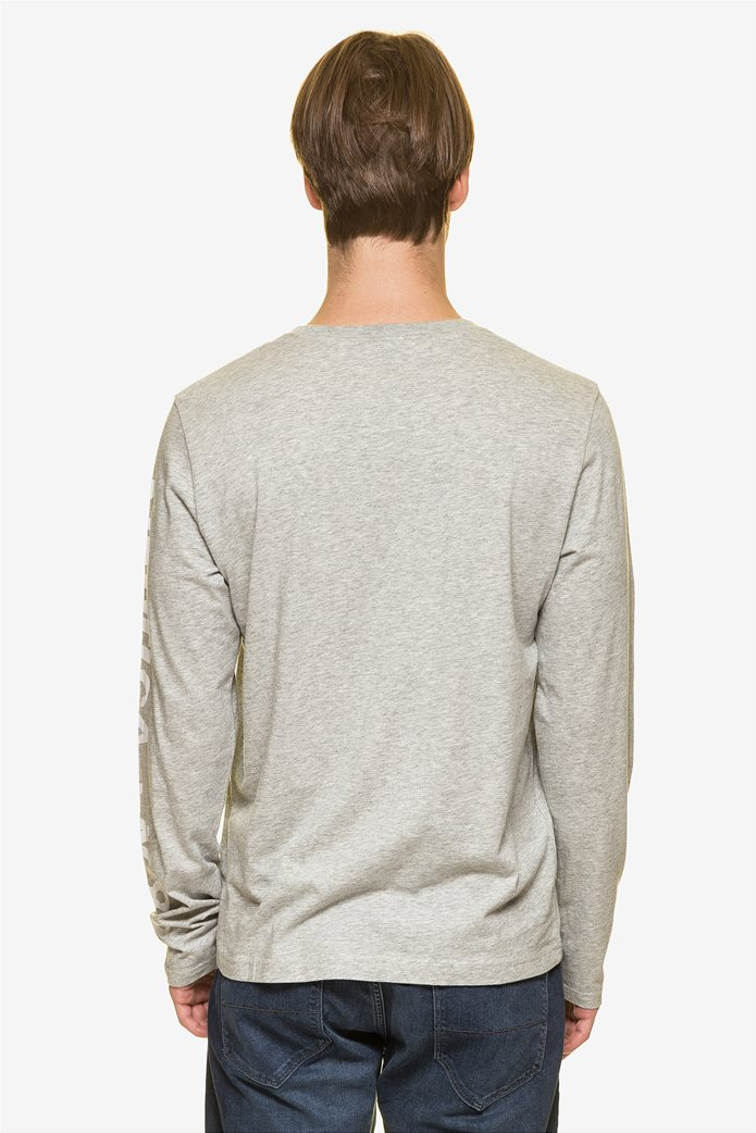 Nautica ανδρική μπλούζα μακρυμάνικη με prints 3