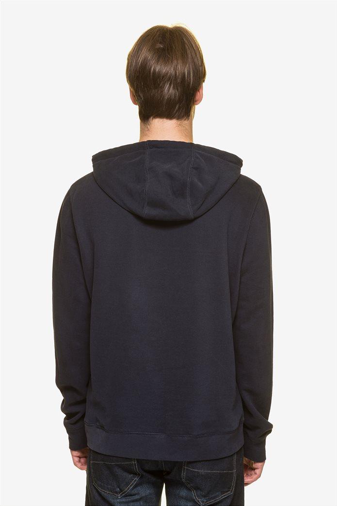 Nautica ανδρική μπλούζα φούτερ με κεντημένο logo  και κουκούλα 3