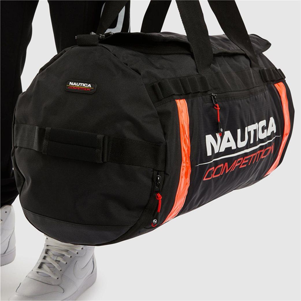 Nautica ανδρικό σακ βουαγιάζ με logo print ''Valdez'' 1