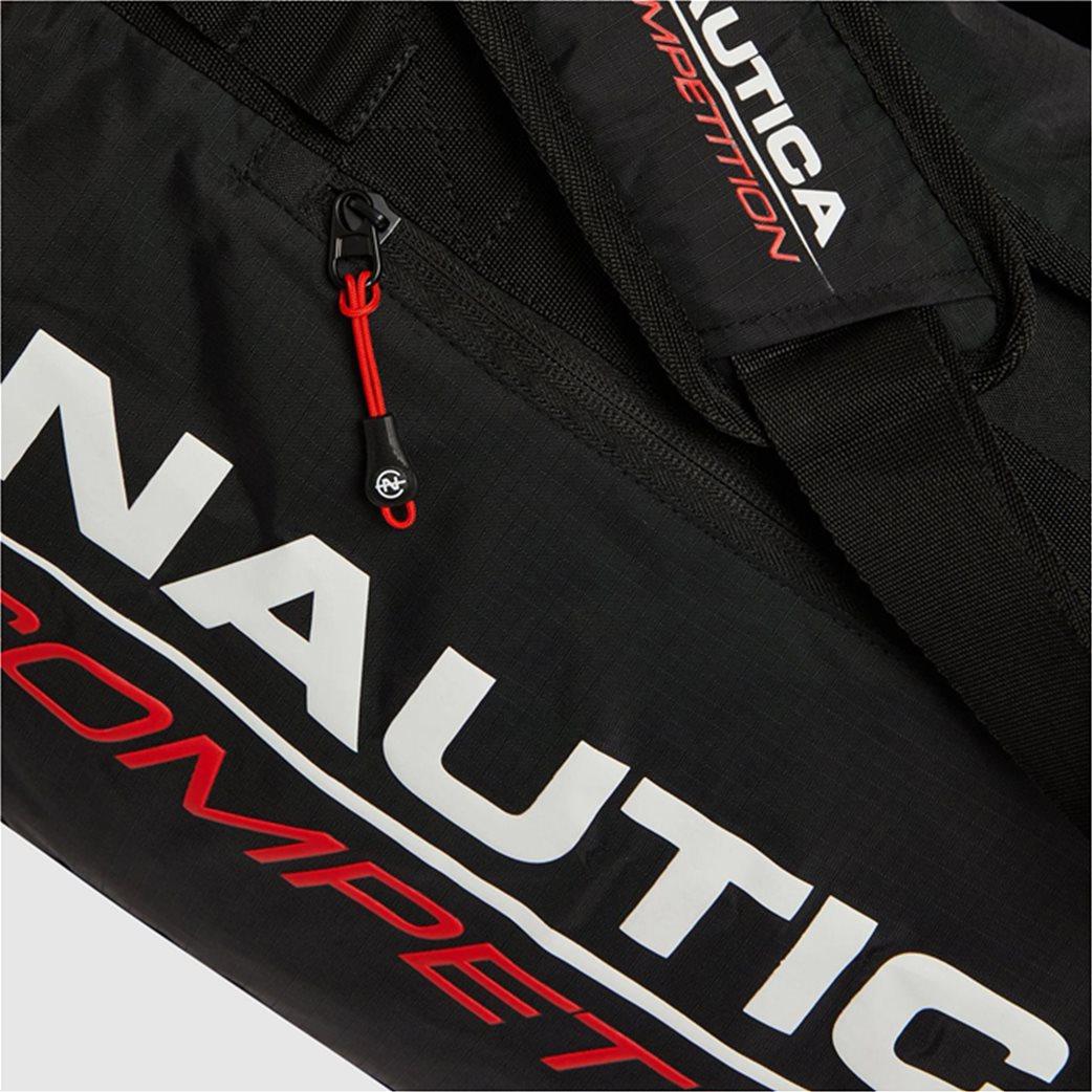 Nautica ανδρικό σακ βουαγιάζ με logo print ''Valdez'' 3