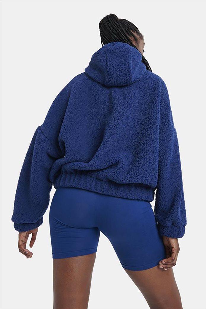 Nautica γυναικεία φούτερ μπλούζα fleece με κεντημένο λογότυπο Μπλε 3