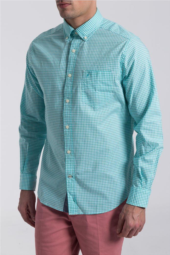 Ανδρικό καρό πουκάμισο Nautica 0