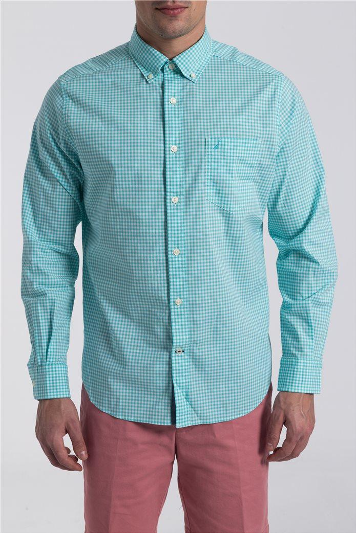 Ανδρικό καρό πουκάμισο Nautica 1