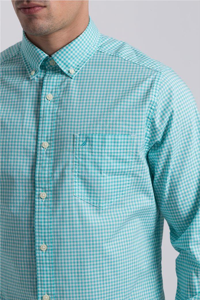 Ανδρικό καρό πουκάμισο Nautica 2