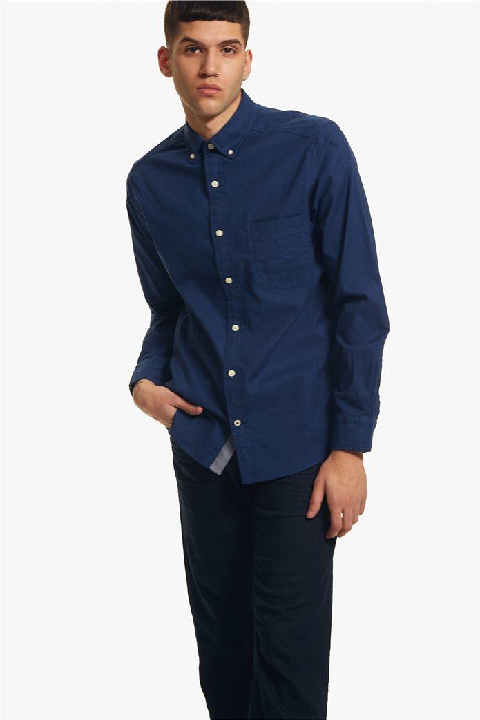 Nautica ανδρικό πουκάμισο Οxford Classic Fit 0