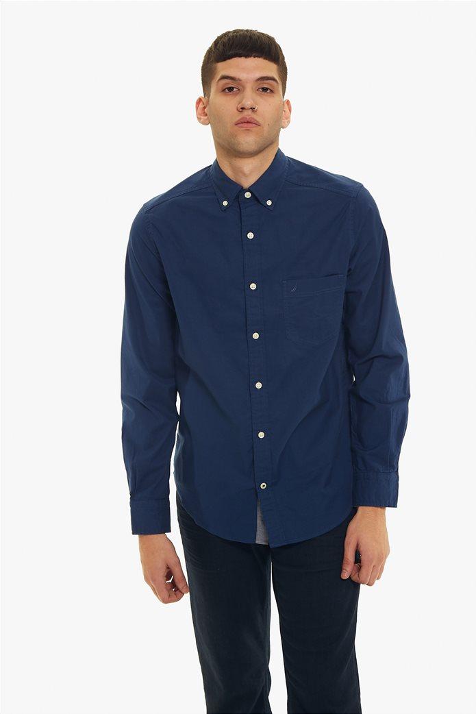 Nautica ανδρικό πουκάμισο Οxford Classic Fit 1