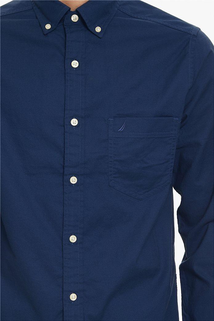 Nautica ανδρικό πουκάμισο Οxford Classic Fit 4