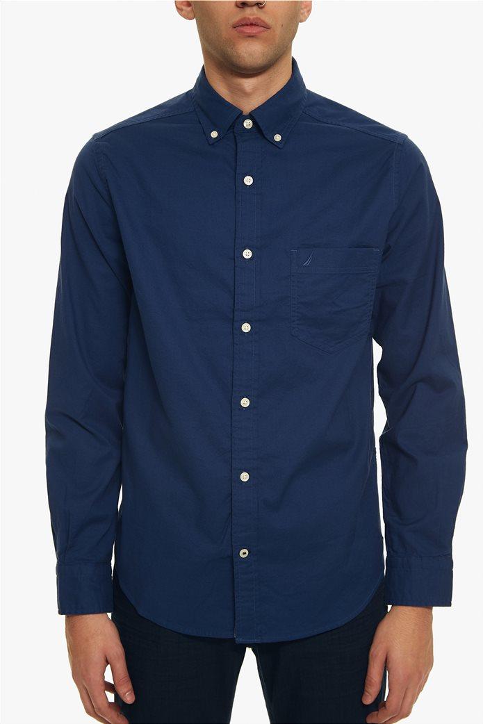Nautica ανδρικό πουκάμισο Οxford Classic Fit 5
