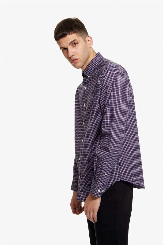 Nautica ανδρικό πουκάμισο μικρό καρό Classic fit 2
