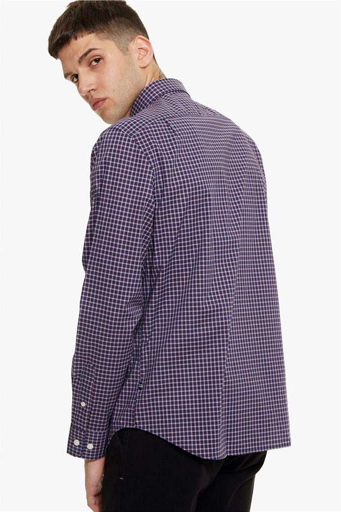 Nautica ανδρικό πουκάμισο μικρό καρό Classic fit 3