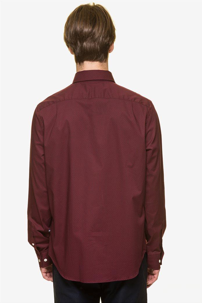 Nautica ανδρικό  πουκάμισο με πουά μικροσχέδιο 3