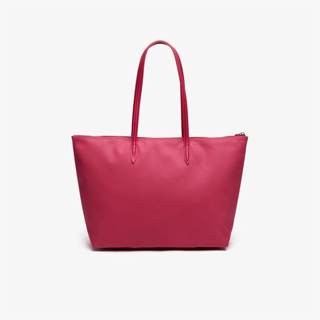 "Lacoste γυναικεία τσάντα ώμου ""Concept Zip Tote"" Μπλε Σκούρο 1"
