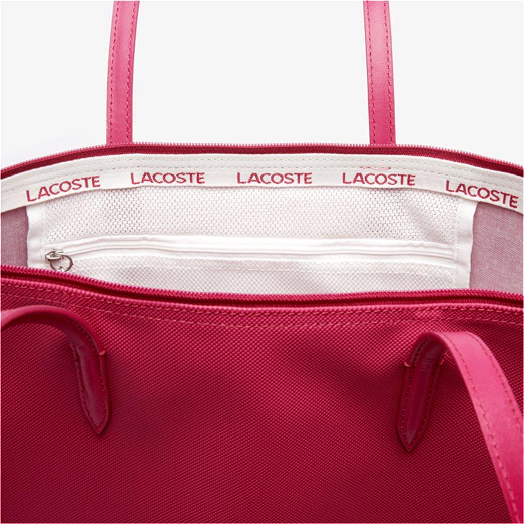 "Lacoste γυναικεία τσάντα ώμου ""Concept Zip Tote"" Μπλε Σκούρο 3"