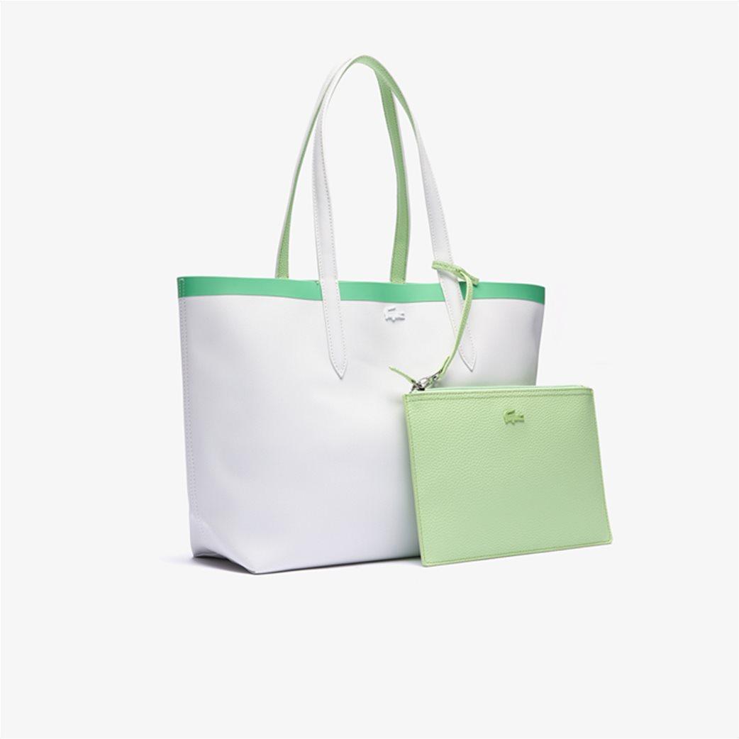 Lacoste γυναικεία τσάντα ώμου διπλής όψης με αποσπώμενο τσαντάκι 3