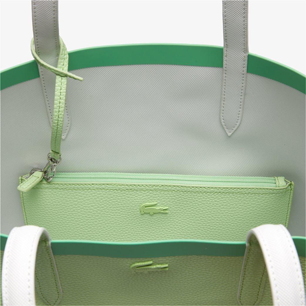 Lacoste γυναικεία τσάντα ώμου διπλής όψης με αποσπώμενο τσαντάκι 7