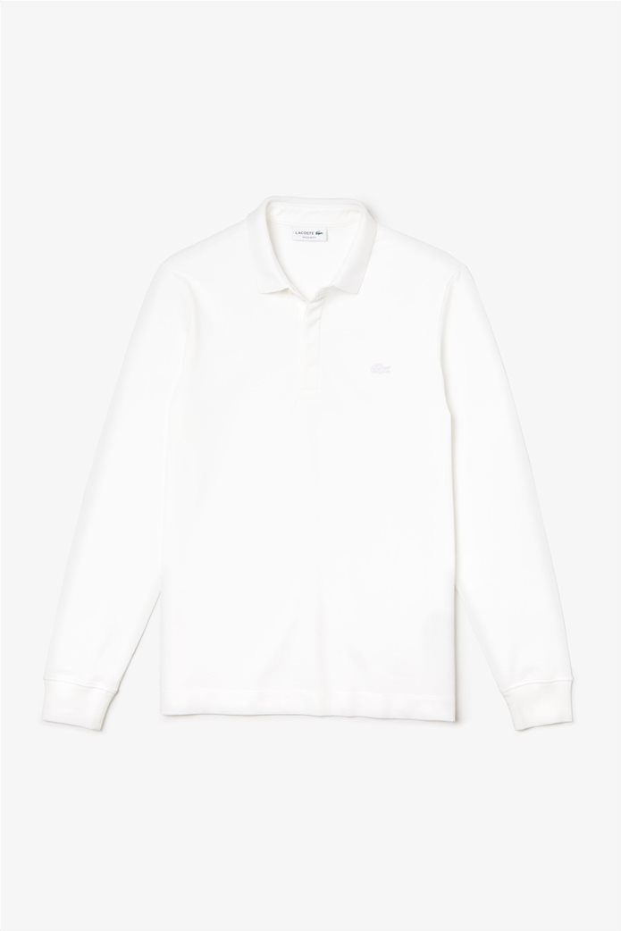 Lacoste ανδρική μπλούζα πόλο με κεντημένο logo Classic Fit 0