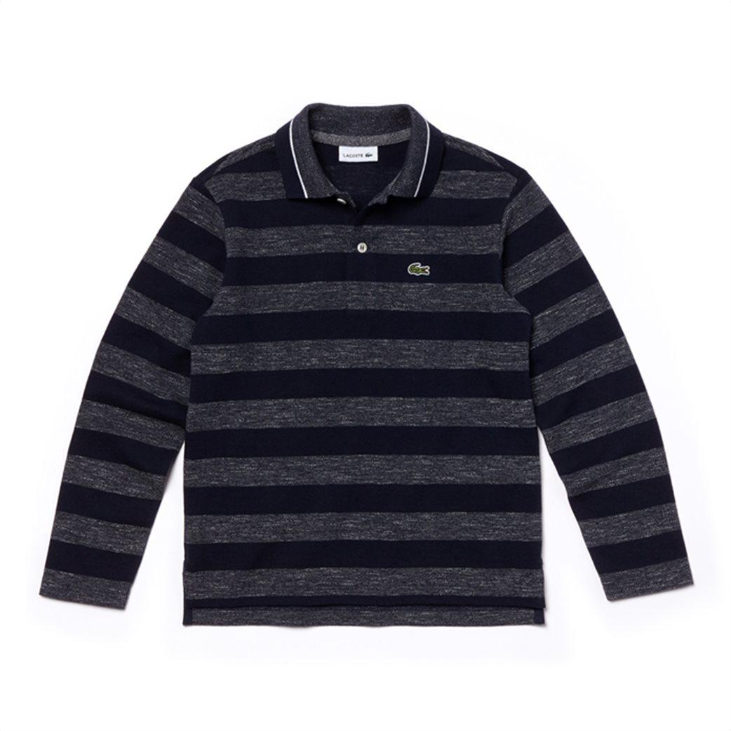 Lacoste παιδική ριγέ polo μπλούζα 2