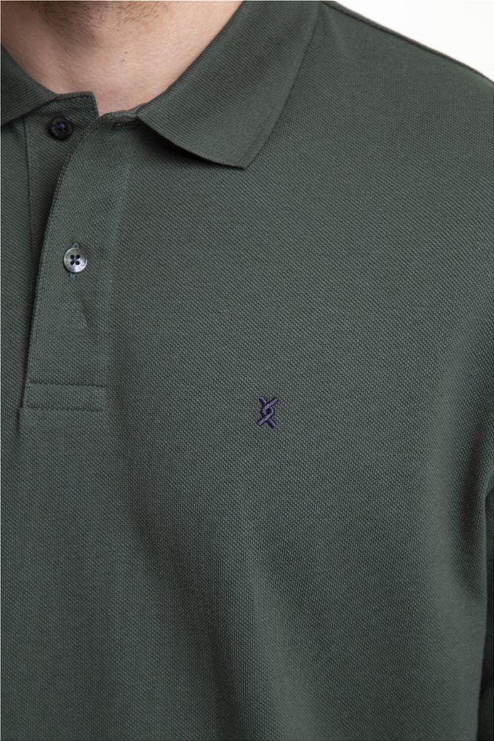 The Bostonians ανδρική μπλούζα πόλο μονόχρωμη 1
