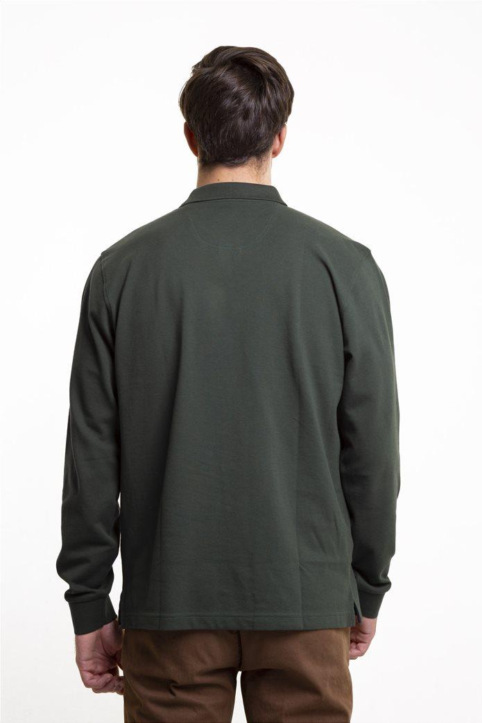 The Bostonians ανδρική μπλούζα πόλο μονόχρωμη 3