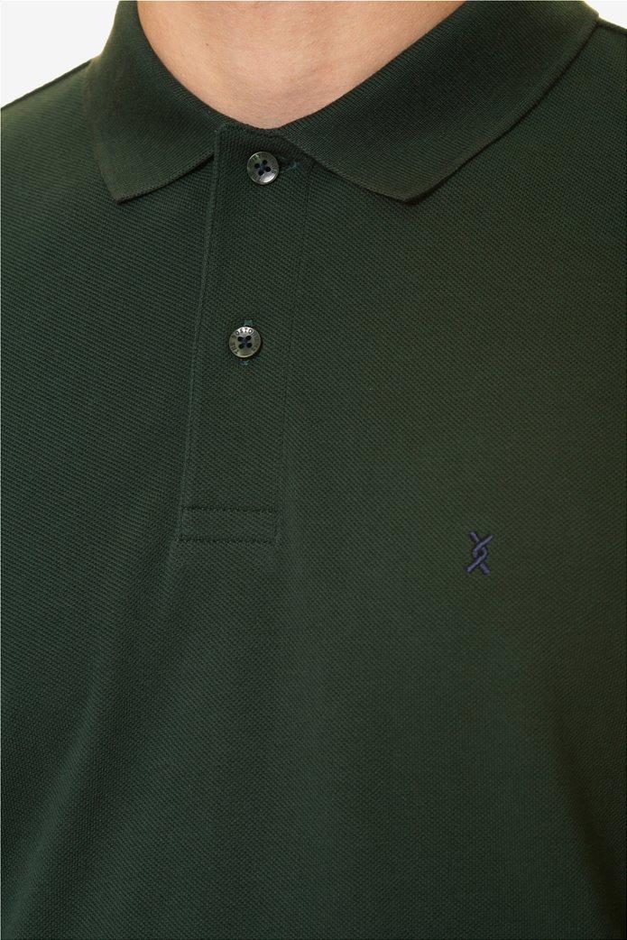 The Bostonians ανδρική μπλούζα πόλο μονόχρωμη 4
