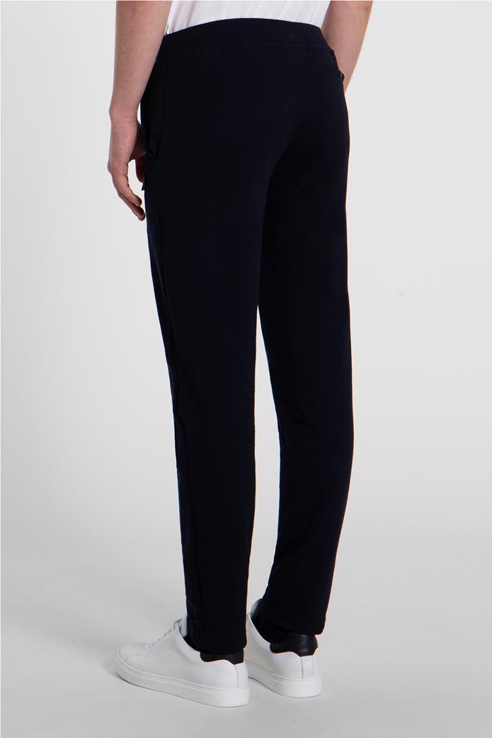 Paul&Shark ανδρικό παντελόνι φόρμας με logo patch Σκούρο Μπλε 3