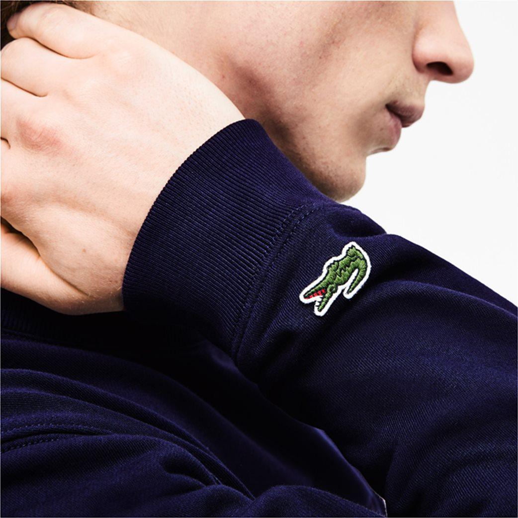 Lacoste ανδρικό φούτερ με κεντημένο logo 3