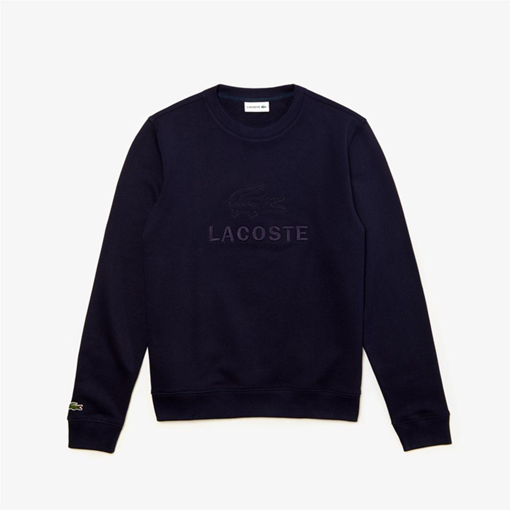 Lacoste ανδρικό φούτερ με κεντημένο logo 4