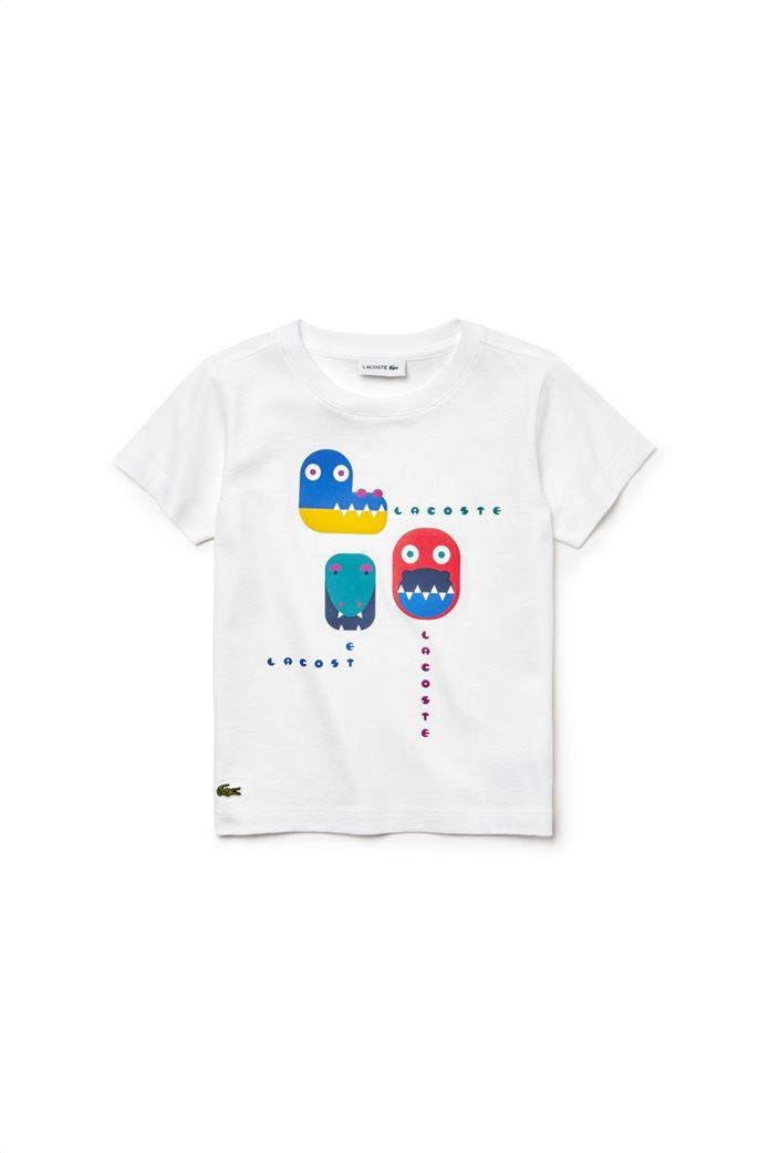 Lacoste παιδικό T-shirt Crocodile Print 0