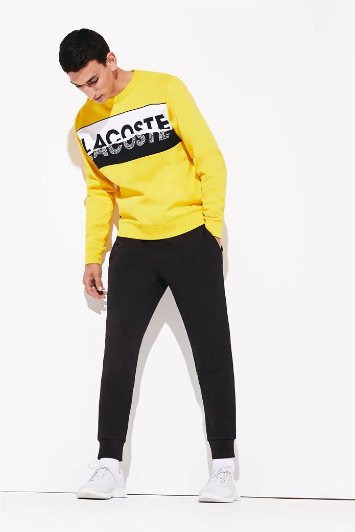 Lacoste ανδρικό παντελόνι φόρμας μονόχρωμο 0