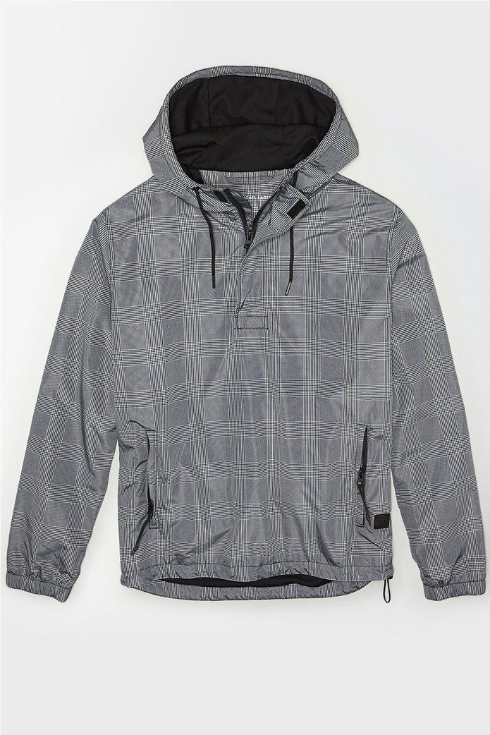 AE Plaid Anorak Jacket 0