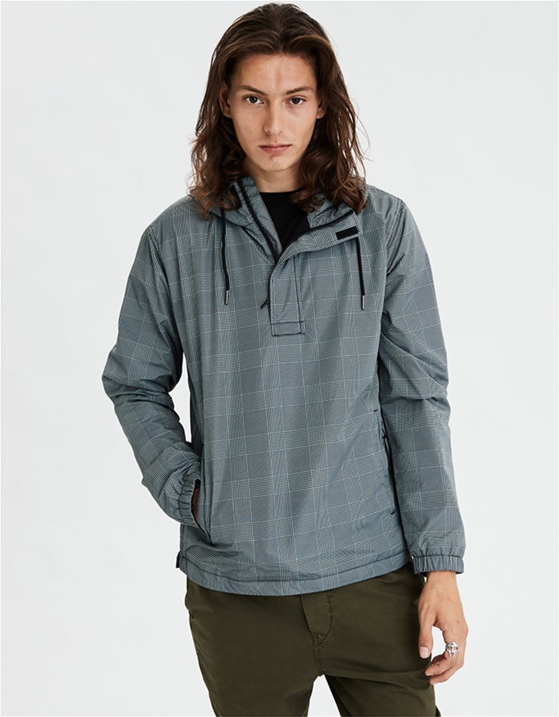 AE Plaid Anorak Jacket 1