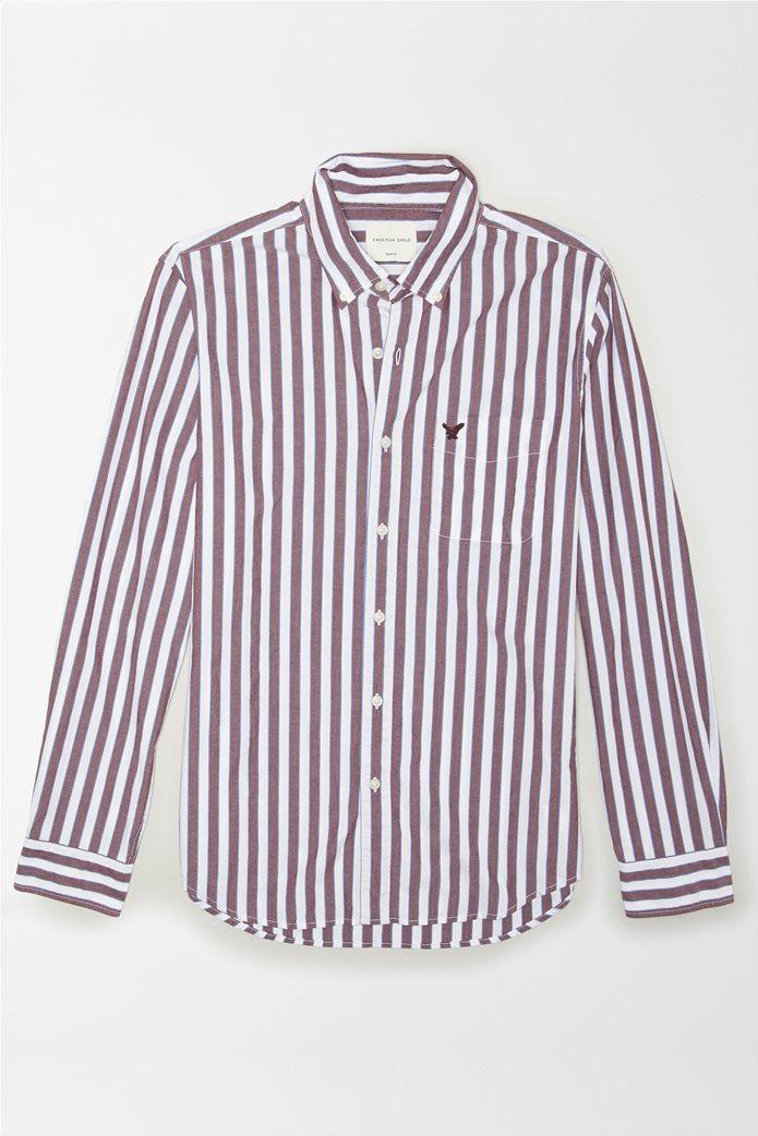 AE Poplin Button Up Shirt 0